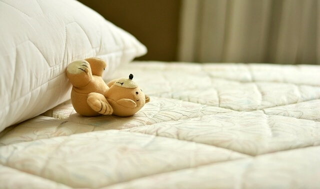 今日のラッキーアイテム「ベッド」