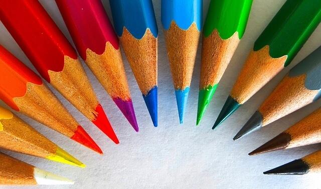 今日のラッキーアイテム「色えんぴつ」