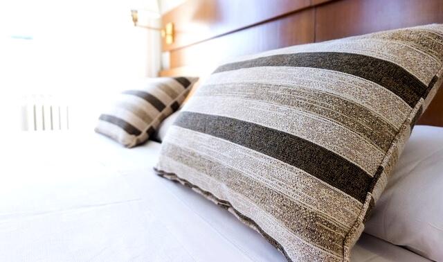 今日のラッキーアイテム「枕」