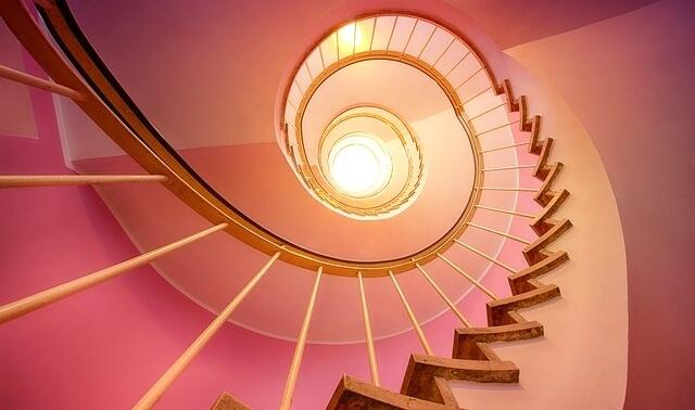 今日のラッキーアイテム「階段」