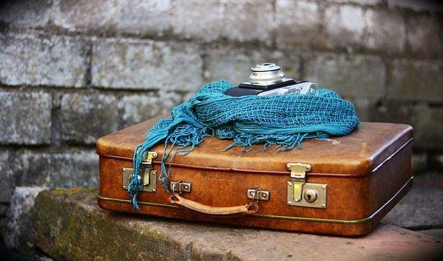 今日のラッキーアイテム「旅行鞄」