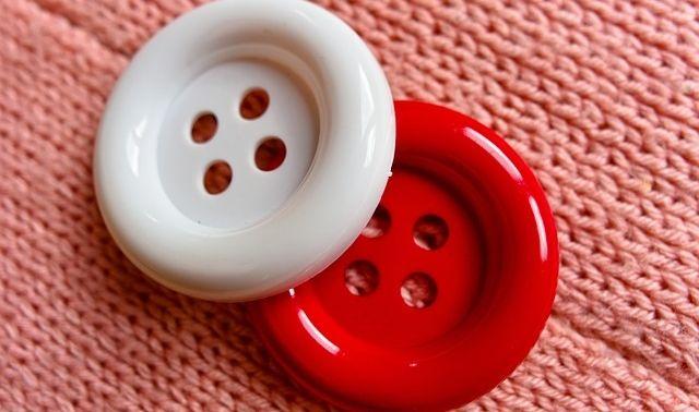 今日のラッキーアイテム「ボタン」