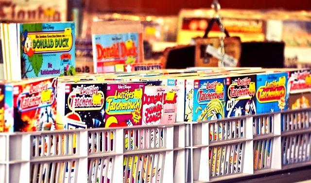 今日のラッキーアイテム「漫画雑誌」