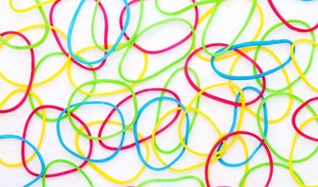 ラッキーアイテム「輪ゴム」の画像
