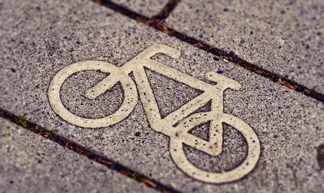 ラッキーアイテム「自転車」