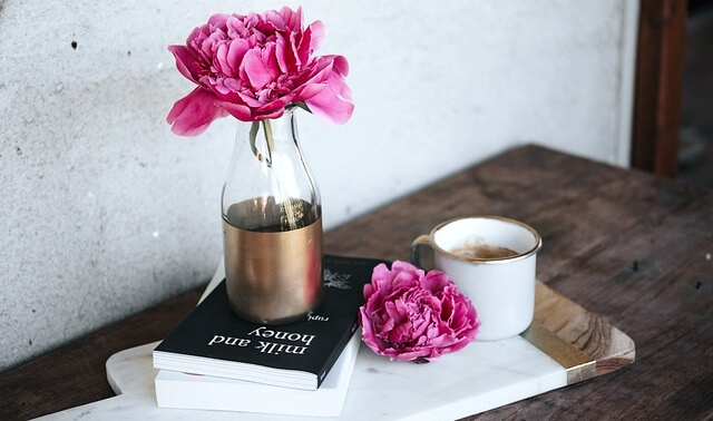 今日のラッキーアイテム「花瓶」