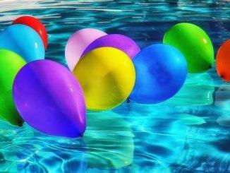 今日のラッキーアイテム「風船」