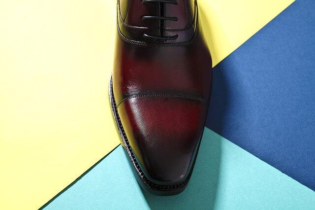 今日のラッキーアイテム「革靴」