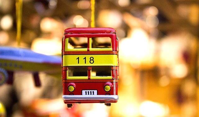 今日のラッキーアイテム「バス」