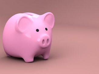 ラッキーアイテム「貯金箱」の画像