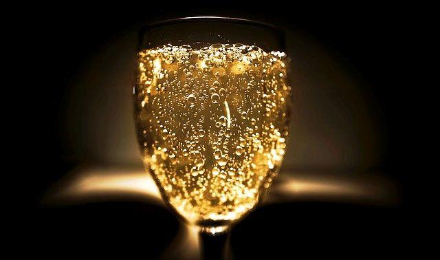 今日のラッキーアイテム「シャンパン」