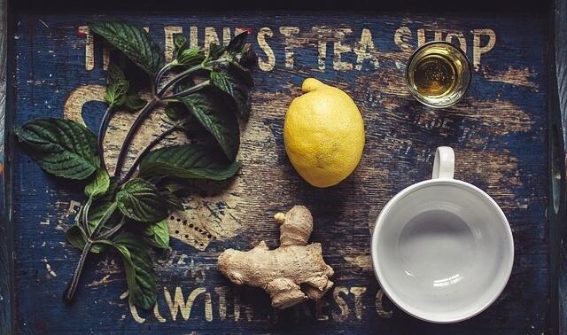 今日のラッキーアイテム「健康茶」