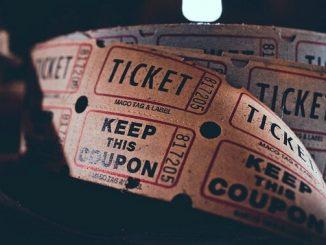今日のラッキーアイテム「チケット」