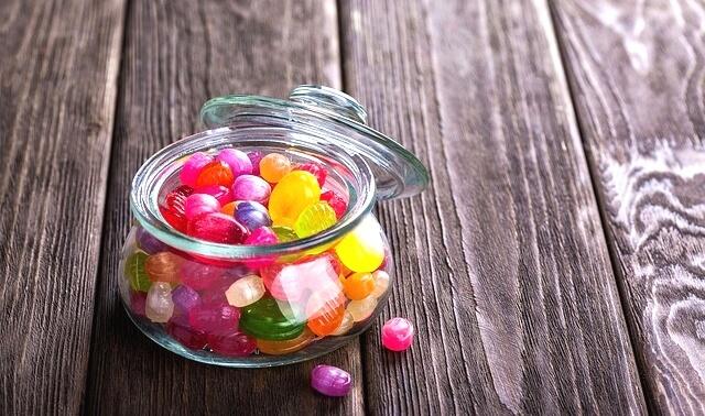 今日のラッキーアイテム「キャンディー」