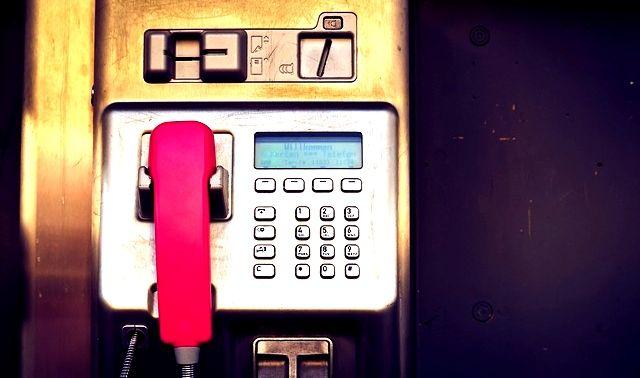 今日のラッキーアイテム「公衆電話」
