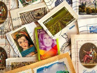 ラッキーアイテム「切手」の画像