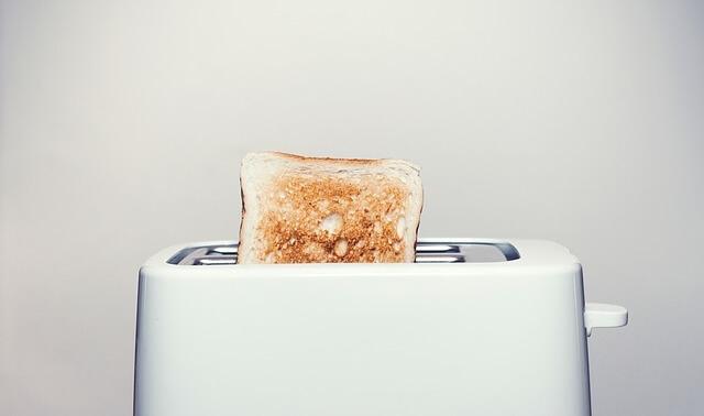 今日のラッキーアイテム「トースター」