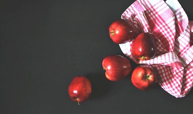 今日のラッキーアイテム「りんご」