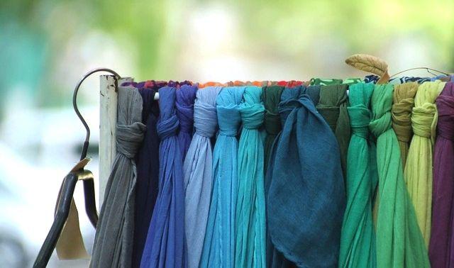 今日のラッキーアイテム「スカーフ」
