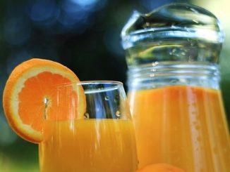 ラッキーアイテム「オレンジジュース」の画像