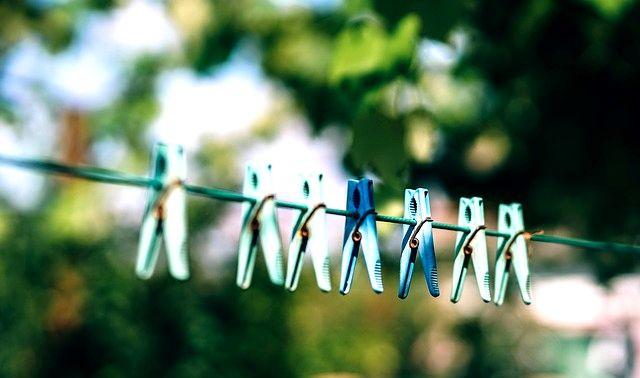 今日のラッキーアイテム「洗濯ばさみ」