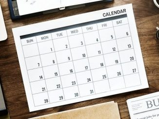 今日のラッキーアイテム「カレンダー」