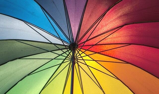 今日のラッキーアイテム「傘」