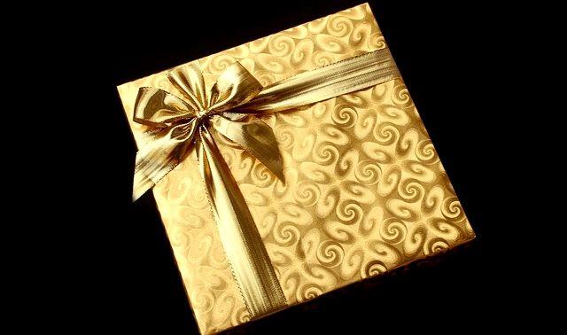 今日のラッキーアイテム「プレゼント」