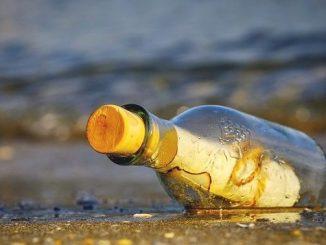 今日のラッキーアイテム「ボトル」