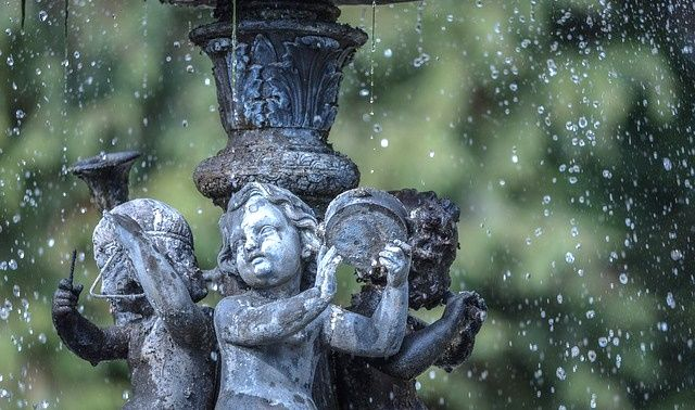 ラッキーアイテム「噴水」の画像