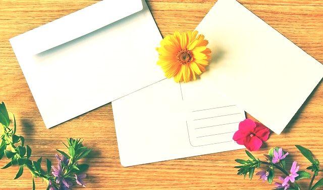 今日のラッキーアイテム「封筒」