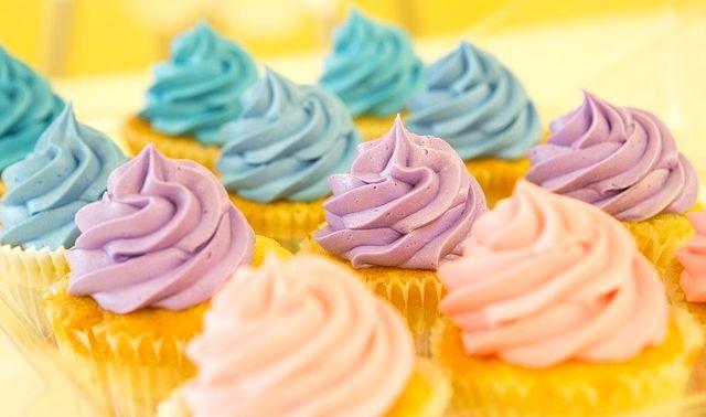 今日のラッキーアイテム「カップケーキ」