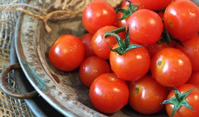 今日のラッキーアイテム「プチトマト」