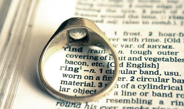 今日のラッキーアイテム「指輪」