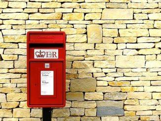 今日のラッキーアイテム「郵便ポスト」