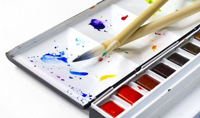 今日のラッキーアイテム「筆」