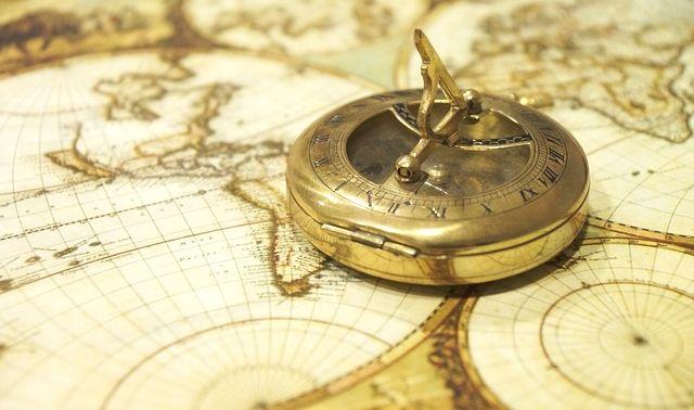 今日のラッキーアイテム「地図」