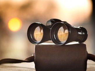 今日のラッキーアイテム「双眼鏡」の画像