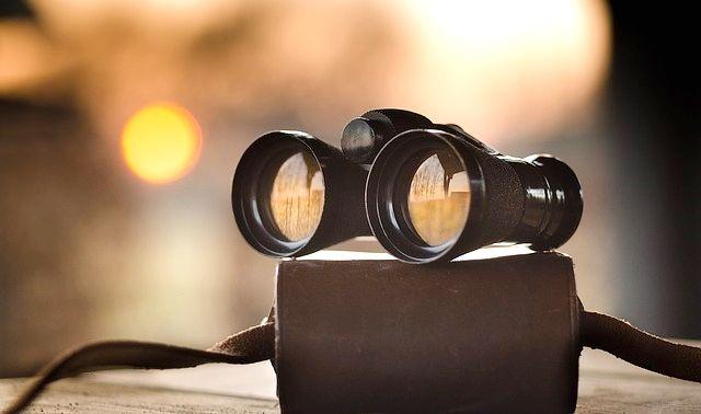今日のラッキーアイテム「双眼鏡」