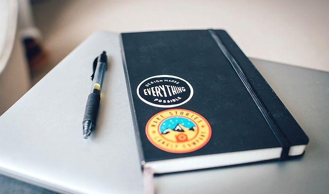 今日のラッキーアイテム「手帳」