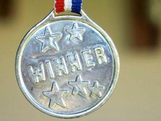 今日のラッキーアイテム「メダル」