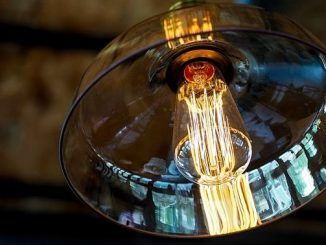 今日のラッキーアイテム「照明」