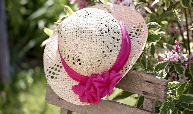 今日のラッキーアイテム「帽子」