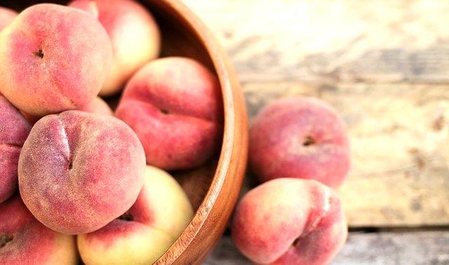 今日のラッキーアイテム「桃」
