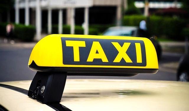 今日のラッキーアイテム「タクシー」