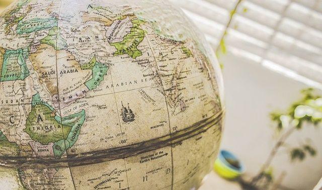 今日のラッキーアイテム「地球儀」の画像