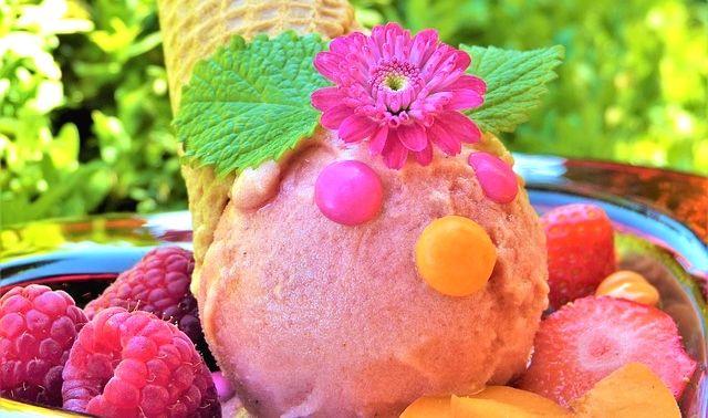 今日のラッキーアイテム「アイスクリーム」