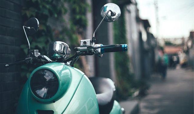 今日のラッキーアイテム「バイク」