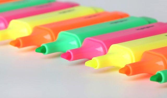 今日のラッキーアイテム「マーカーペン」