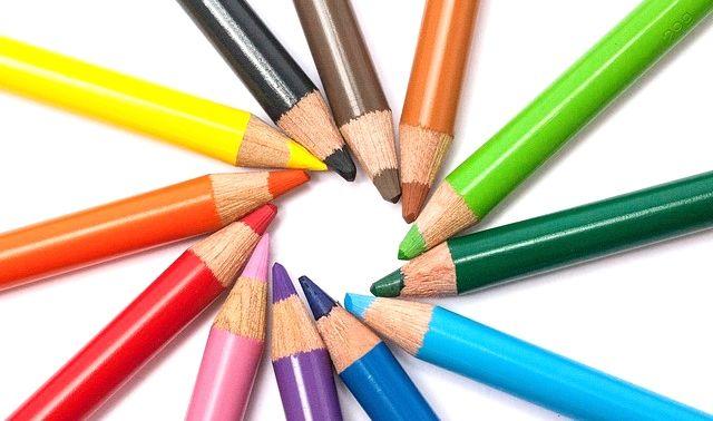 今日のラッキーアイテム「色鉛筆」
